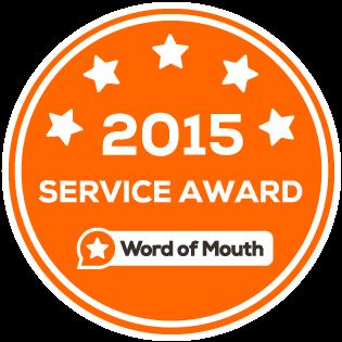 Womo Servcie Award 2015