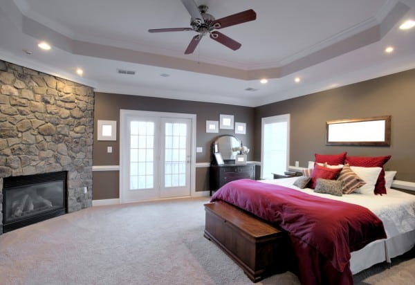 Lower your air conditioners work out with ceiling fans