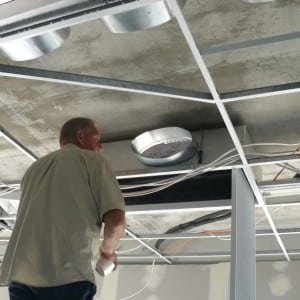 Ducted air conditioning for medium size offices