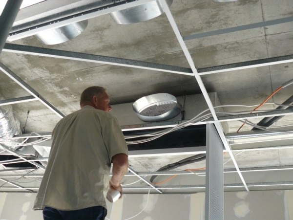 ducted air conditioning installation completed