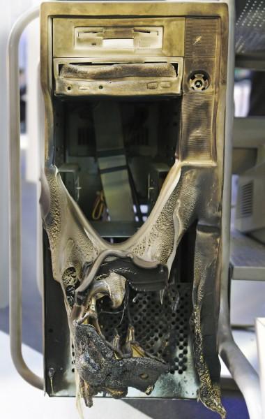 Burnt Computer