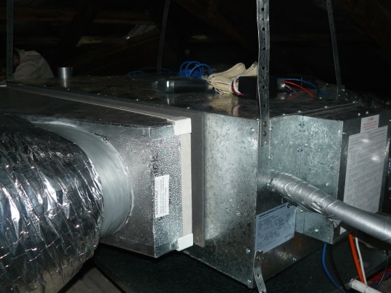 Installation of a Ducted Air Conditioning System