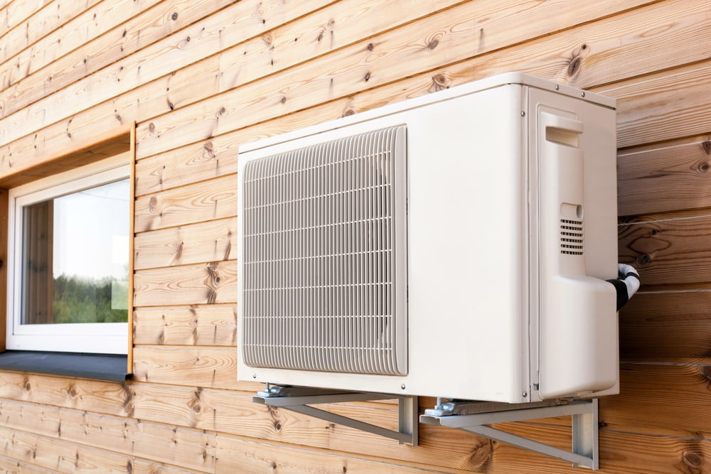 new external air conditioner