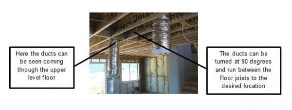 Ducted Air Conditioning In 2 Storey House